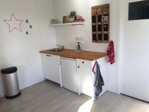 Het keukentje van de huiskamer